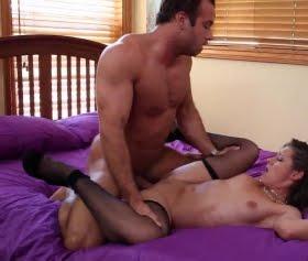 Cassidy Klein, Chad White yatakta seks bu kadar etkili olursa orgazm olunur
