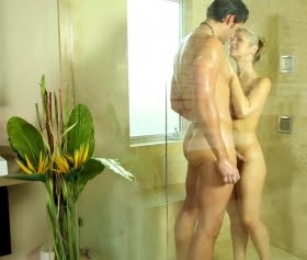 Sarah Vandella, Jay Smooth güzel şeyler duşta daha iyi olur