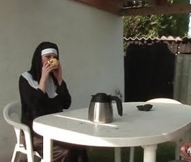 rahibe pornosu, türbanlının konulu ilkporno filmi