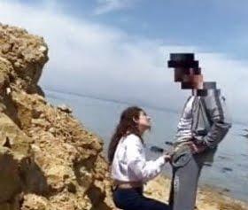 amasra sahilde sex yapan çifte kumrular