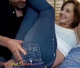 sevimli kot pantolonlu seksi kız,bring me videos