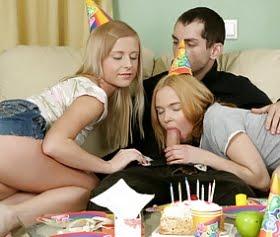 doğum günü sikişsiz olmaz diyenler grup sex yaptı